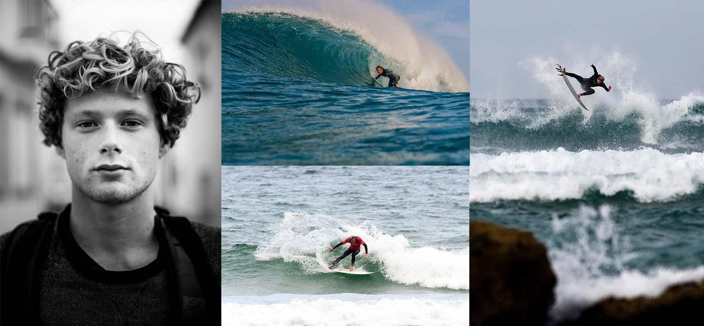 Surfers Angus Scotney