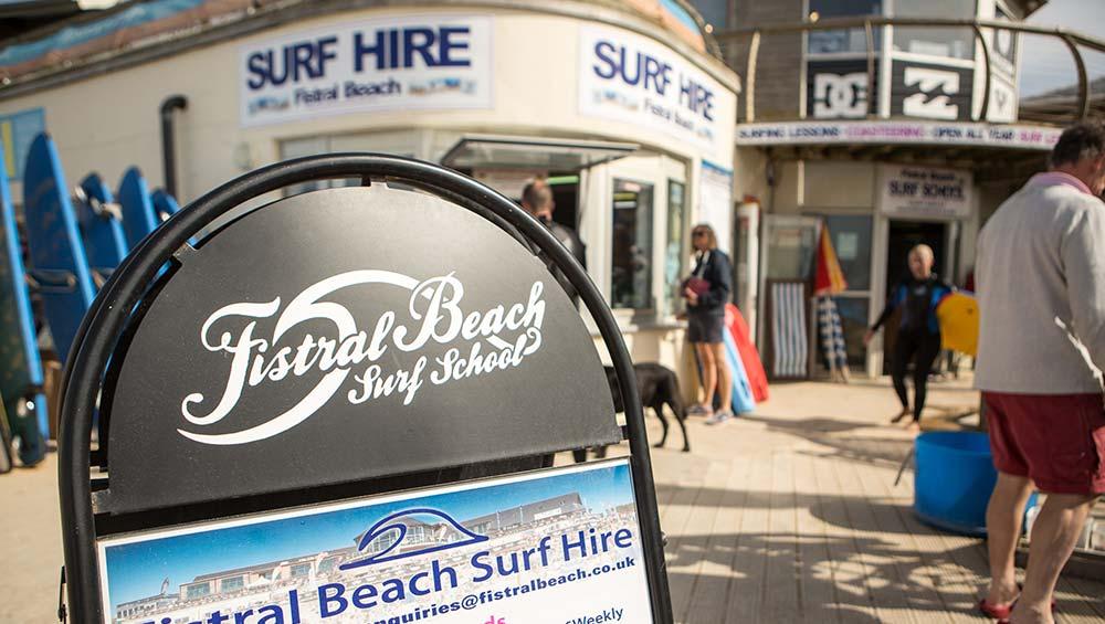Fistral Beach Surf Hire