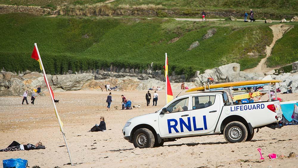 Fistral Beach RNLI