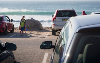 Fistral Beach Car Park