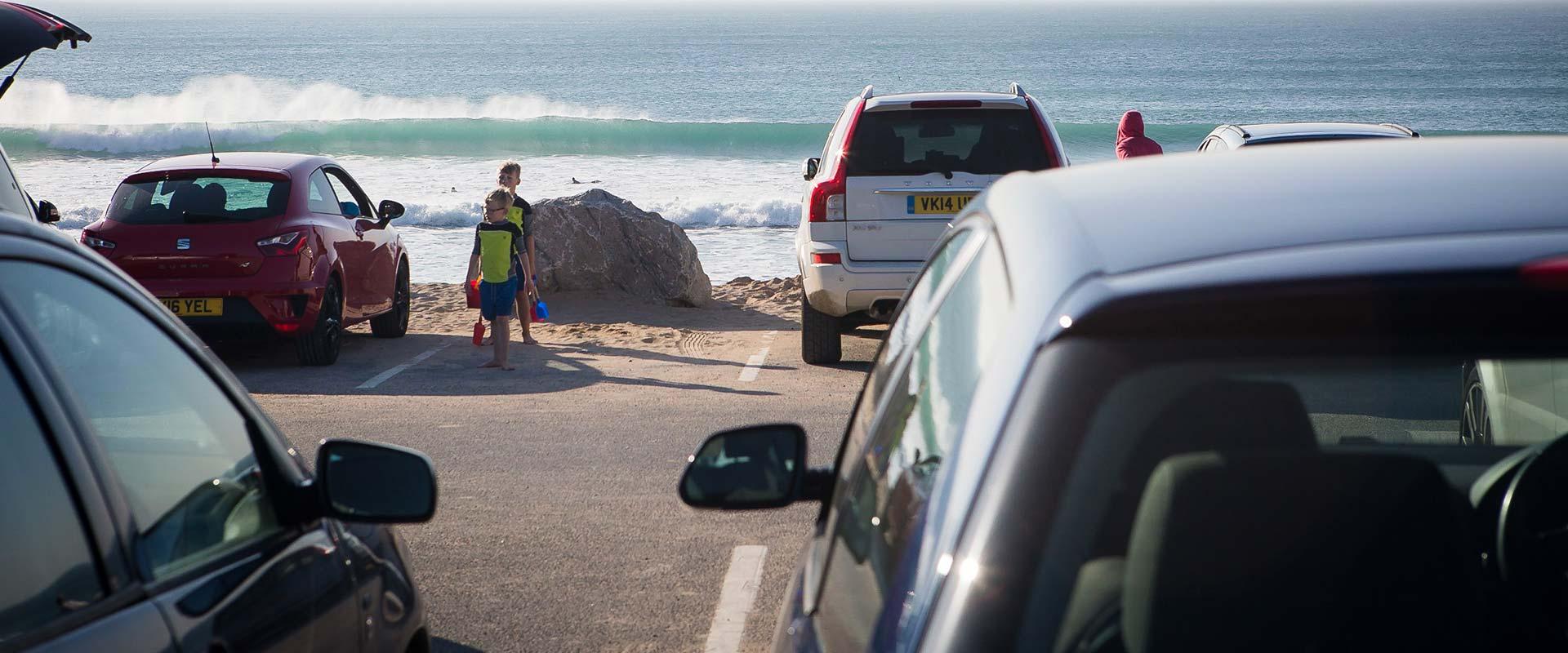 Fistral Beach Car Park
