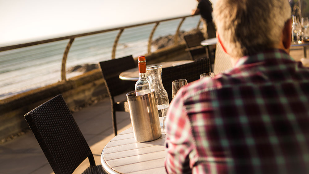 Food & Drink at Fistral Beach