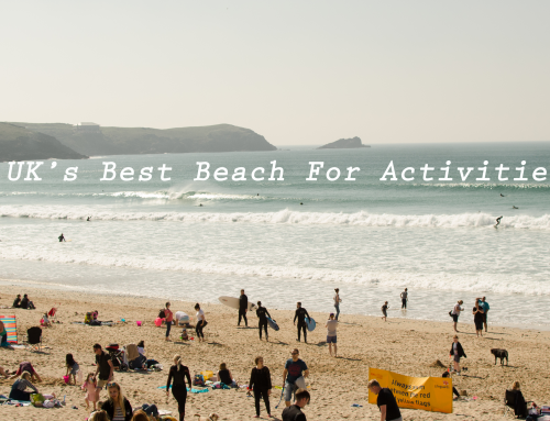 Fistral Beach Is The UK's Best Beach For Activities