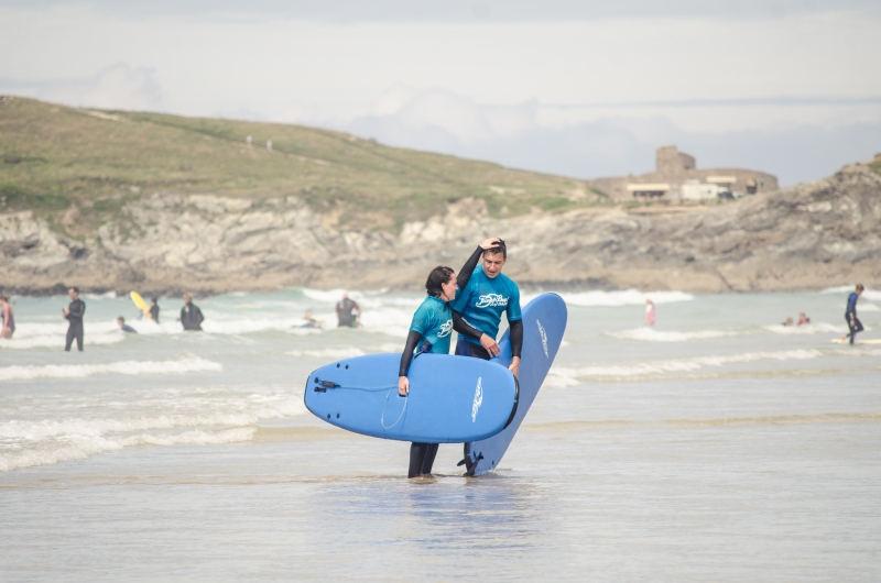 Activities at Fistral Beach
